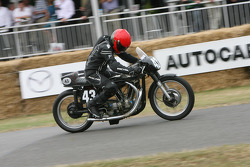 1952 Norton Jap V Twin: Steve Keys
