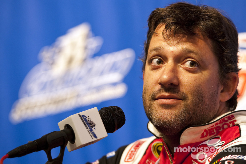 Press conference: Tony Stewart, Stewart-Haas Racing Chevrolet