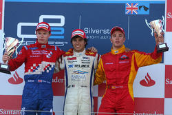 Oliver Turvey, Sergio Perez and Dani Clos