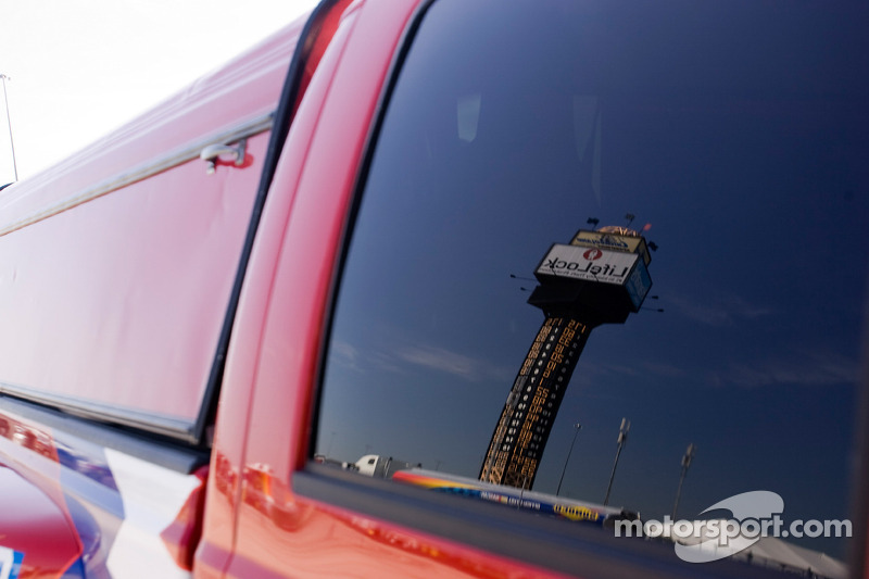 Chicagoland Speedway scoring tower