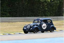 #48 Simca 8 1938: Evelyne Heise Resillot, Jean-Pierre Jaussaud