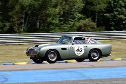 #46 Aston Martin DB 4 GT 1960: Tarek Mahmoud, Michel Zaccour