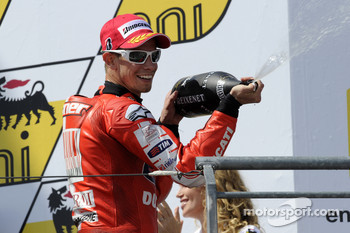 Podium: third place Casey Stoner, Ducati Marlboro Team