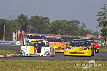 #9 Action Express Racing Porsche Riley: Joao Barbosa, Terry Borcheller, JC France, #28 LG Motorsports Corvette: Kelly Collins, Eric Lux