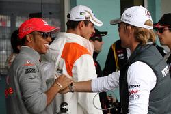 Lewis Hamilton, McLaren Mercedes, Nico Rosberg, Mercedes GP