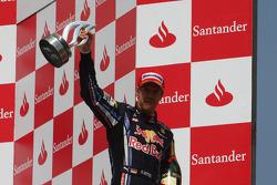 Podium: third place Sebastian Vettel, Red Bull Racing