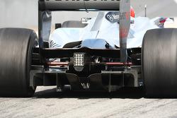 Mercedes Rear diffuser