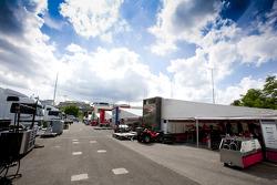 GP2 Series paddock