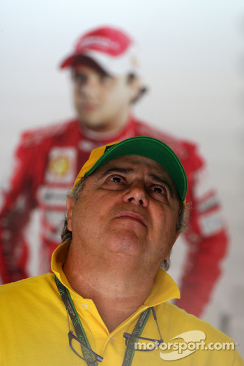 Luis Antonio Massa, father of Felipe Massa, Scuderia Ferrari