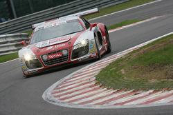 #50 Phoenix Racing Audi R8 LMS GT3: Anthony Kumpen, Marcel Fässler, Lucas Luhr, Mike Rockenfeller