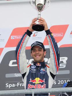 Podium: winner Jean-Eric Vergne