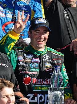 NASCAR-NS: Victory lane: race winner Marcos Ambrose
