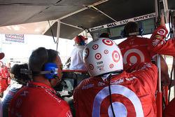 Target Chip Ganassi Racing pit area