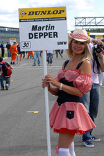 Martin Depper's grid girl