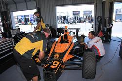 HVM Racing team members at work
