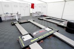 FIA weighbridge in scrutineering