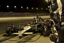 Pit stop for Alex Tagliani, FAZZT Race Team