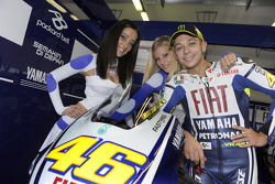 Valentino Rossi, Fiat Yamaha Team in charming company