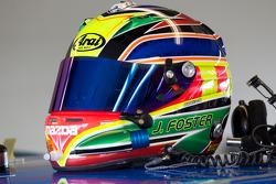 Helmet of Joe Foster
