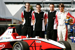 Esteban Gutierrez and his engineers