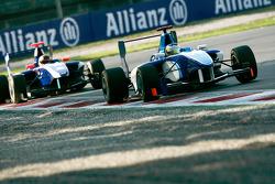 Roberto Merhi leads Josef Newgarden