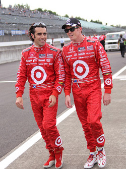 Dario Franchitti, Target Chip Ganassi Racing and Scott Dixon, Target Chip Ganassi Racing