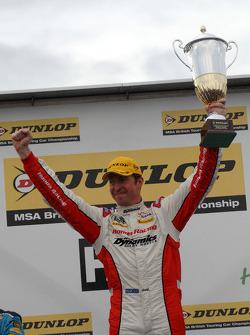 Race winner Matt Neal