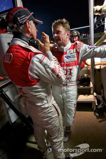 Rinaldo Capello and Allan McNish