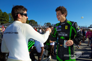 Mike Rockenfeller and Dominik Farnbacher
