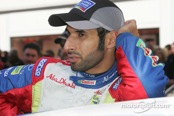 Khalid Al Qassimi and Ford Focus RS WRC 08, BP Ford Abu Dhabi World Rally Team