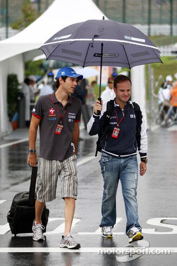 Bruno Senna, Hispania Racing F1 Team, Rubens Barrichello, Williams F1 Team