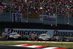 Michael Schumacher, Mercedes GP, Nico Rosberg, Mercedes GP