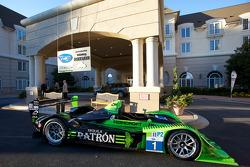 The championship winning #1 Patron Highcroft Racing Honda Performance Development ARX-01c
