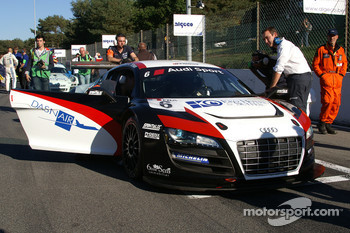 #6 Sainteloc-Phoenix Racing AUDI R8 LMS: Jerome Demay, Bruce Lorgere-Roux