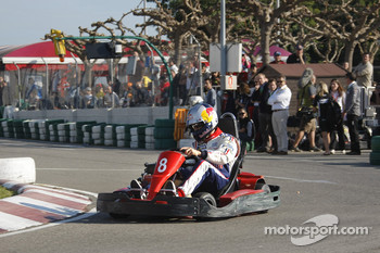 Rally Catalunya karting race: Sbastien Ogier
