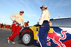 Sébastien Loeb and Sébastien Ogier