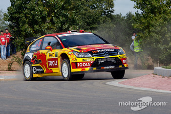 Petter Solberg and Chris Patterson, Citroën C4 WRC, Petter Solberg Rallying