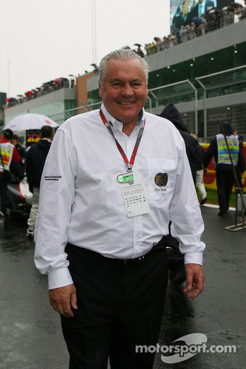 Former F1 World champion Alan Jones