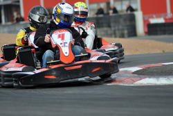 GT1 Karting in Navarra: Peter Dumbreck