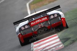 #37 All-Inkl.com Münnich Motorsport Lamborghini Murcielago R: Marc Basseng, Christophe Bouchut