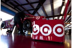 Stewart-Haas Racing Chevrolet garage area