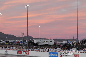 Beautiful Sunset at the Las Vegas Natinals