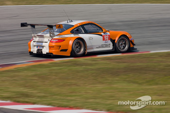 #92 Porsche AG Porsche 911 GT3R Hybrid: Jrg Bergmeister, Patrick Long