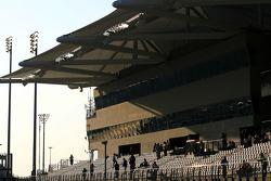 grandstands atmosphere