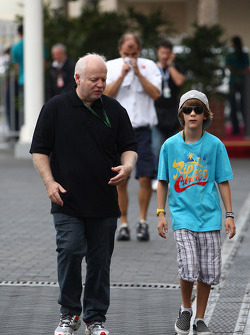 Norbert Vettel, Father of Sebastian Vettel and Fabian Vettel Brother of Sebastian Vettel