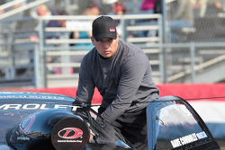 Dave Connolly in his IDG Makita Power Tools Racing Chevy Cobalt