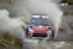 Dani Sordo at 2010 Wales Rally GB, Citroen C4 Total World Rally Team