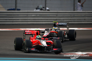 Lucas di Grassi, Virgin Racing, Bruno Senna, Hispania Racing F1 Team
