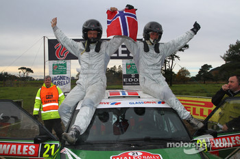 Andreas Mikkelsen and Ola Floene