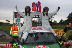 Andreas Mikkelsen and Ola Floene